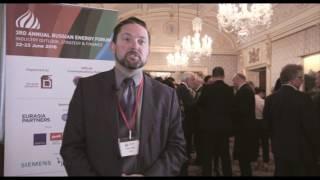 Stuart Elliott, Platts, Russian Energy Forum, London 2016