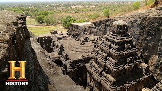 Ancient Aliens: The Ellora Caves (Season 12) | Exclusive | History - Download this Video in MP3, M4A, WEBM, MP4, 3GP