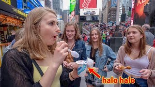 Giving NYC Strangers Jollibee for the First Time?!