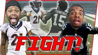 WHO WOULD WIN IN A FIGHT?! CRABTREE OR TALIB? - Madden 18 User Skills Challenge Ep.6