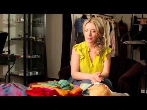 Советы стилиста: как правильно подбирать платки и палантины под определенный типаж