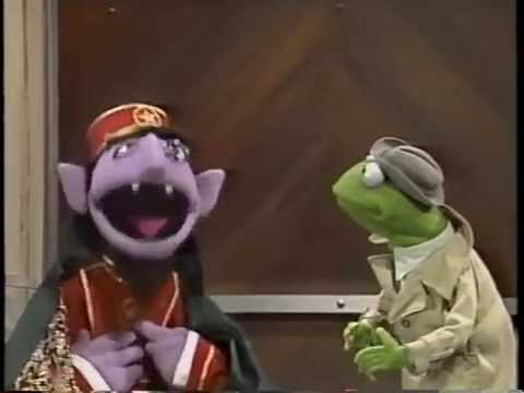Classic Sesame Street - The Count Is an Elevator Operator