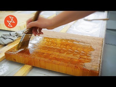 The Lovely Process Of Making The Most Intricate Wooden Cutting Boards