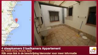 preview picture of video '4 slaapkamers 2 badkamers Appartement te Koop in Els Poblets Denia, Alicante, Spain'