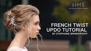 French Twist Updo Tutorial By Stephanie Brinkerhoff | Kenra Professional