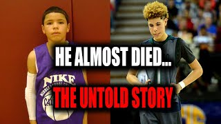 THE DAY LAMELO BALL ALMOST DIED... THE UNTOLD AND UNBELIEVABLE  STORY OF LAMELO BALL