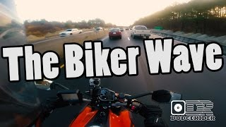"The Biker ""Wave"""