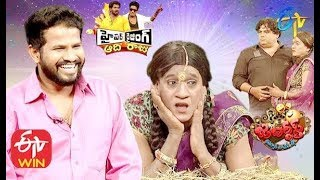 Hyper Aadi, Raising Raju  Performance | Jabardasth| Double Dhamaka Special | 12th January 2020|ETV