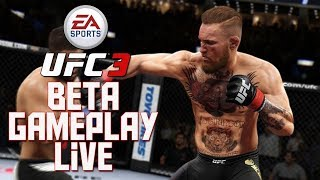 EA Sports UFC 3 Beta PS4 Gameplay | New Combo System, Knockouts, Conor McGregor AND MORE