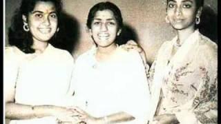 Geeta Dutt, Lata Mangeshkar : Oonchi neechi raahein : Film