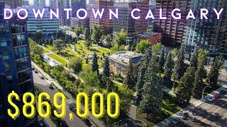 Downtown LUXURY LIVING In Calgarys Park Condo Tower!