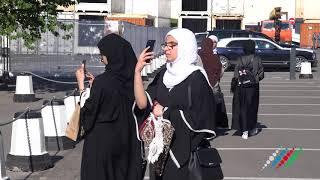 Мусульмане Москвы и гости ЧМ 2018 празднуют Ураза-байрам