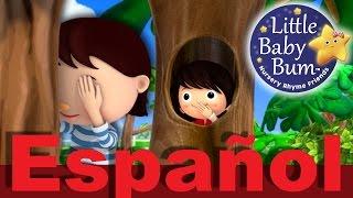 ¿Dónde estás? Canción del escondite   Canciones infantiles   LittleBabyBum