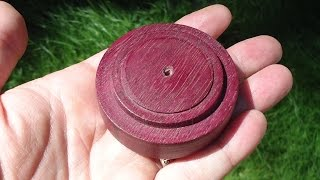 #2 How to bring out the purple in Purple Heart wood