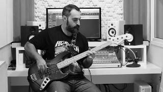 Anthrax - Madhouse - Bass cover (HD) by Glauco Marcon
