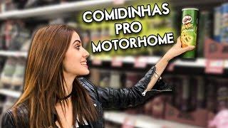 O QUE A GENTE COMPRA DE COMIDINHAS PRO MOTORHOME? 🍅
