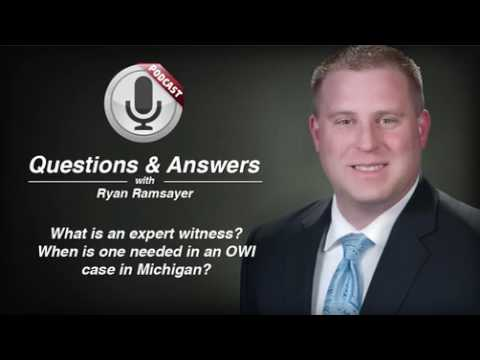 video thumbnail Expert Witnesses in OWI Cases in Michigan