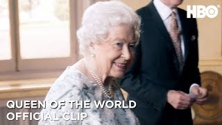 Finally Meeting the Queen | Queen of the World | HBO