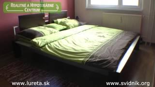 preview picture of video 'Priestranný 3-iz. byt s loggiou - Gen. Svobodu, Svidník - SK0353'