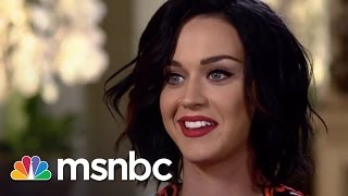 Katy Perry Interview: Super Bowl Halftime | msnbc thumbnail