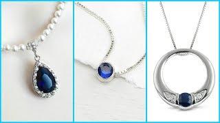 Sapphire Birth Stone Pendant Design