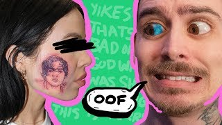 The Harry Styles Face Tattoo Is FAKE