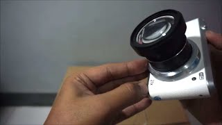 Macro Lens with Compact zoom camera (Samsung WB 350F)