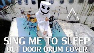Sing Me To Sleep - Alan Walker (Marshmello Remix) - Drum Cover - Ixora (Wayan)