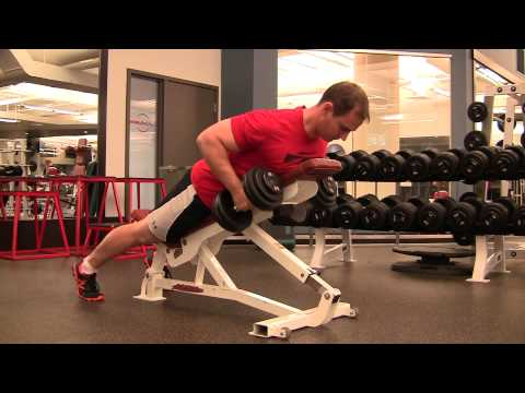 Incline Dumbbell Row Exercise Com