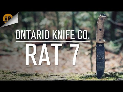 Ontario Knife Co. RAT 7 | Survival Knife | Field Review
