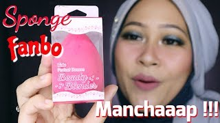 Fanbo Perfect Bounce Beauty Blender Review | Sponge Lokal Murah Meriah 30 Ribuan | Firda Velayati