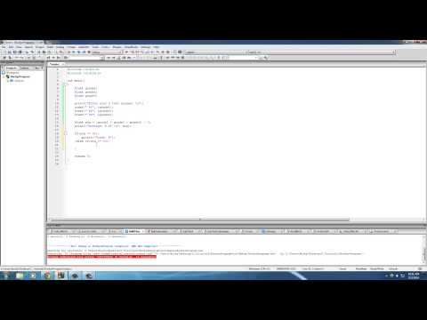 C Programming Tutorial – 20 – What about more than two choices?