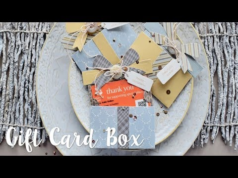 How to create a gift card envelope with Katie Skilton - Sizzix
