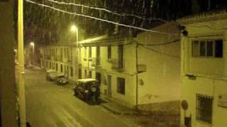 preview picture of video 'TUEJAR: NEVADA EN FEBRERO'