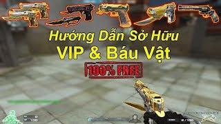 Hướng Dẫn Cách Sở Hữu VIP Và Báu Vật Free ( Miễn Phí ) | TQ97