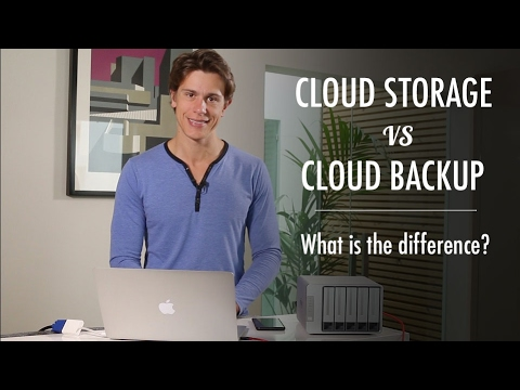 Cloud Storage vs Cloud Backup – What's the Difference?