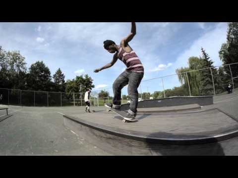 Character Skateboards | Corey Henderson 5 Manual Clips at Mendota Skatepark, MN  | 2013