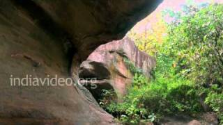 Bhimbetka Rock Shelter 13