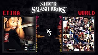 Etika vs. The World | Super Smash Bros. Live Reaction | Decide who wins!
