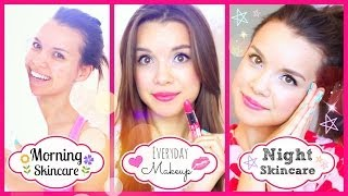 My Everyday Makeup Routine + Winter Skincare (Day & Night!)