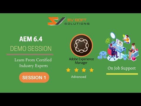 AEM 6.4 Training Tutorial for Beginners   AEM 6.4 Online Training ...