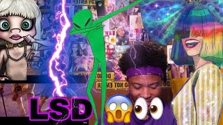LSD   Thunderclouds (Official Video) Ft. Sia, Diplo, Labrinth   Reaction