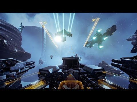 EVE: Valkyrie VR Gameplay Trailer Pre-Alpha - Fanfest 2015 thumbnail