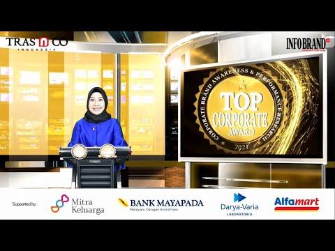 Sambutan Direktur INFOBRAND Group di Award Ceremony Top Corporate & Top Corporate Finance Award 2021