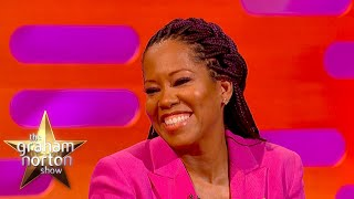 Emmy Winner Regina King's Endearing Story Of Her Biggest Watchmen Fan | The Graham Norton Show
