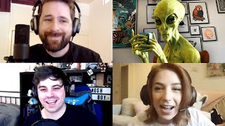 Social Distancing Turned Us Into Aliens (Jackbox: Push The Button)