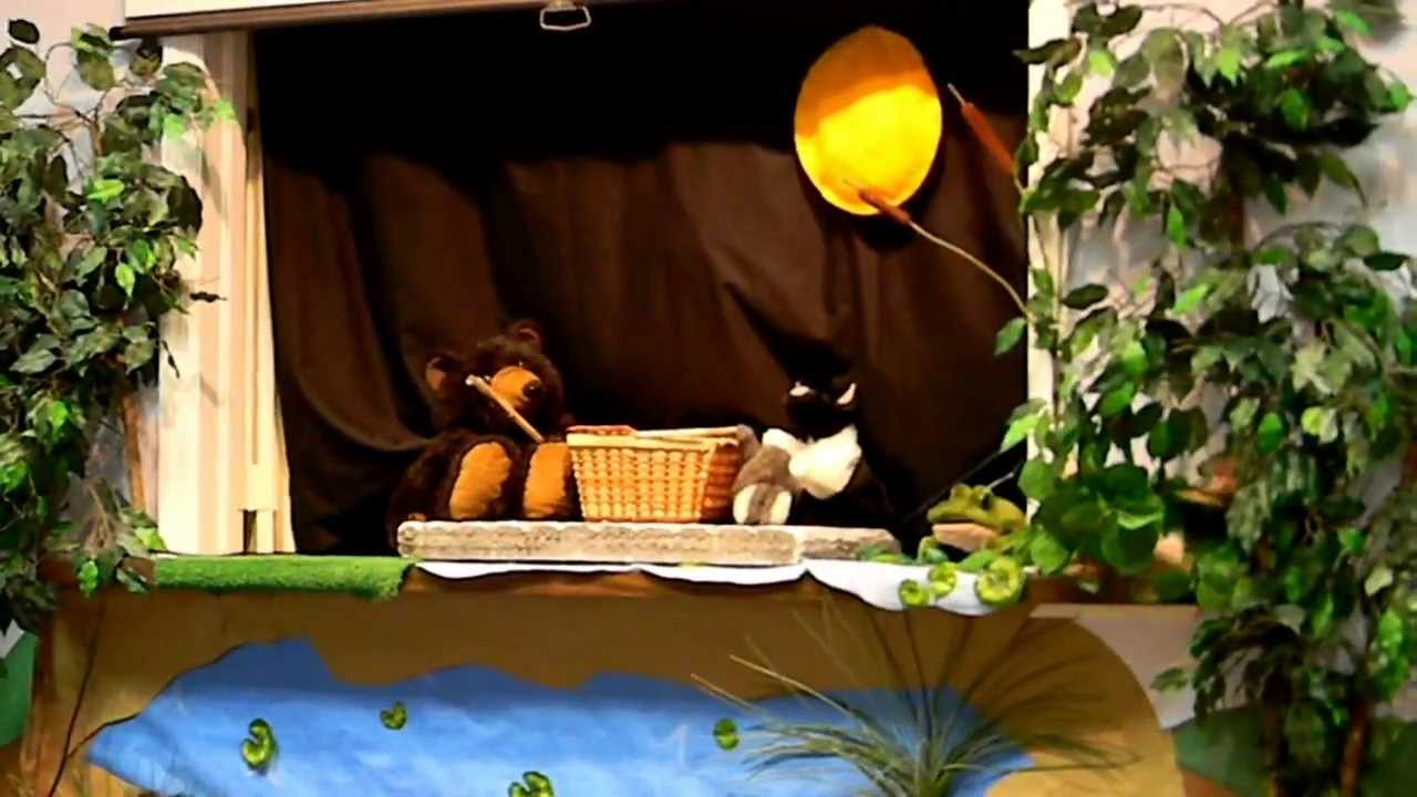 Puppet Show for kids - Animals on Picnic