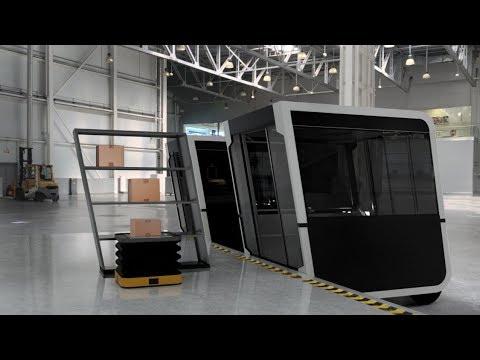 NEXT Future Transportation unveils autonomous Parcel Delivery Solution