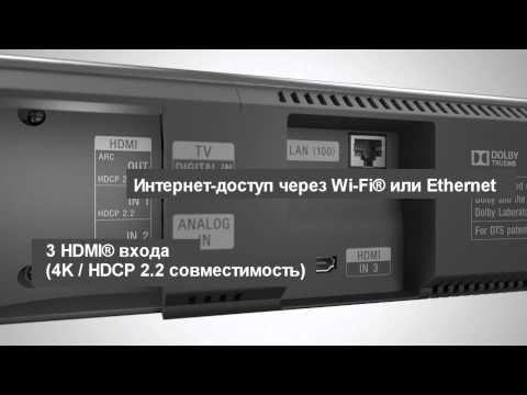 Аудиосистема Sony HT-NT3 видео 2