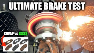 What Are The Best Brake Pads? Cheap vs Expensive Tested!